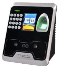 Sistem de pontaj și control acces cu cod, card, amprentă sau imagine facială